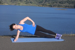 Side Plank Crunch 1