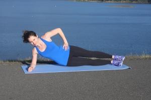 Side Plank Crunch 2